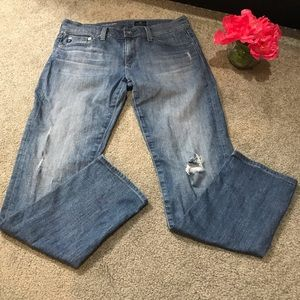 AG ADRIANO GOLDSCHMIED The Nolan Ankle Jeans